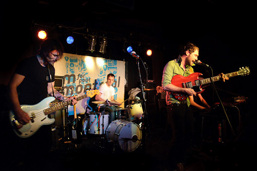 Malajube at CMJ (M for Montreal Showcase at Arlene's Grocery)