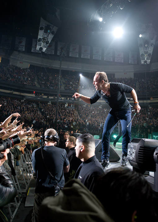 Metallica at The Prudential Center