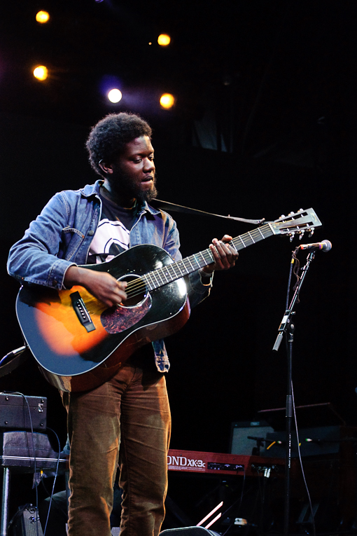 Michael Kiwanuka at Prospect Park