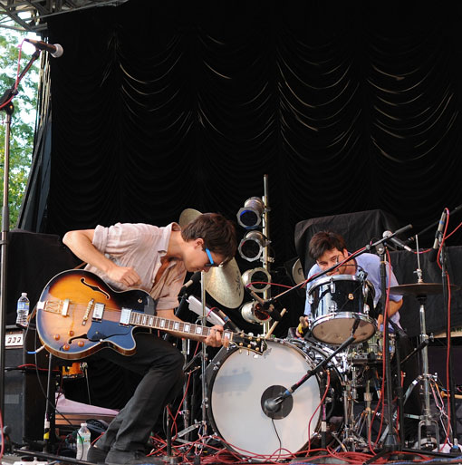 Morning Benders at Summerstage