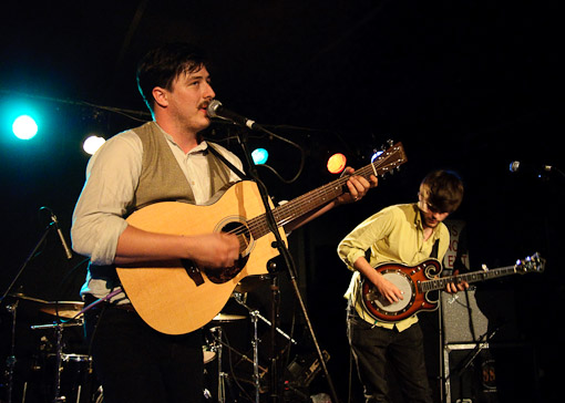 Mumford & Sons at the Mercury Lounge