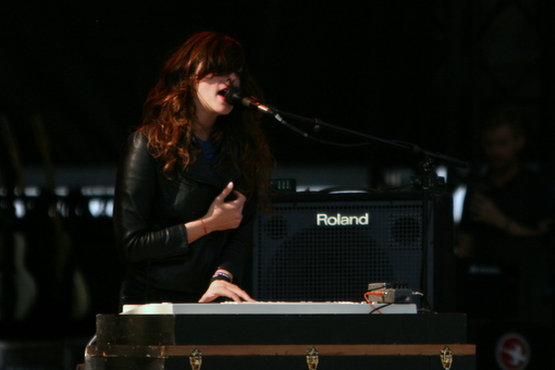 Beach House at Sasquatch 2011