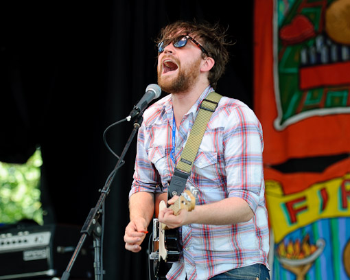 Frightened Rabbit at Siren Fest