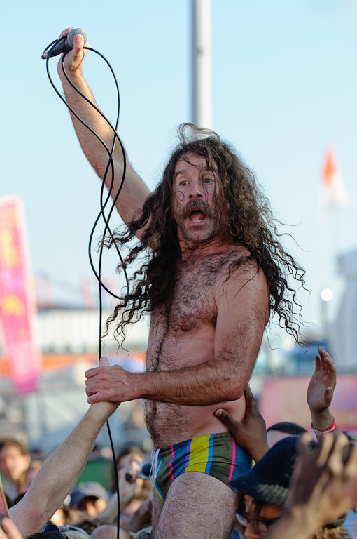 Monotonix at Siren Festival