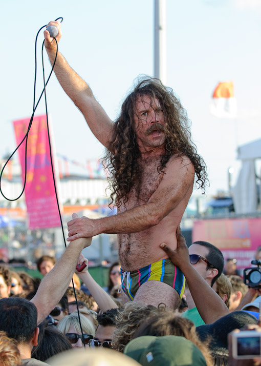 Monotonix at Siren Music Festival