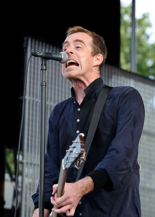 Ted Leo at Siren Festival