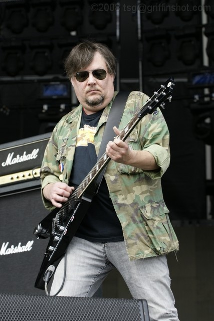 Ron Asheton at Virgin Mobile Festival