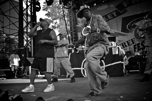 Public Enemy at the Virgin Free Festival