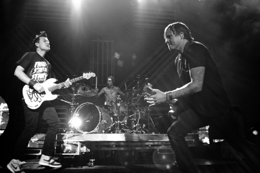 Blink-182 at Virgin Free Fest