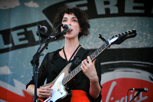 St Vincent at Virgin Free Fest