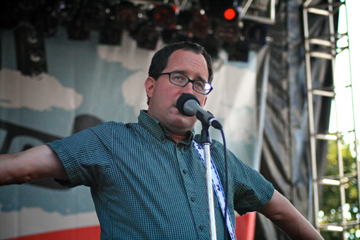 The Hold Steady at the Virgin Free Festival