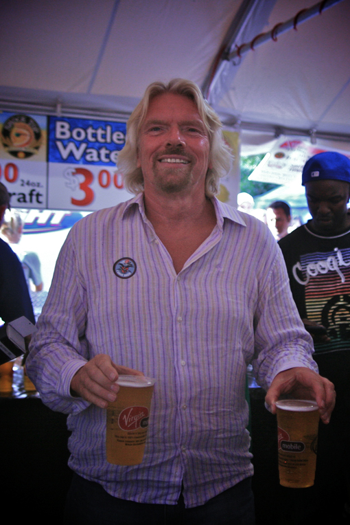 Richard Branson at 2009 VFF