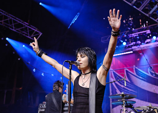 Joan Jett nd The Blackhearts