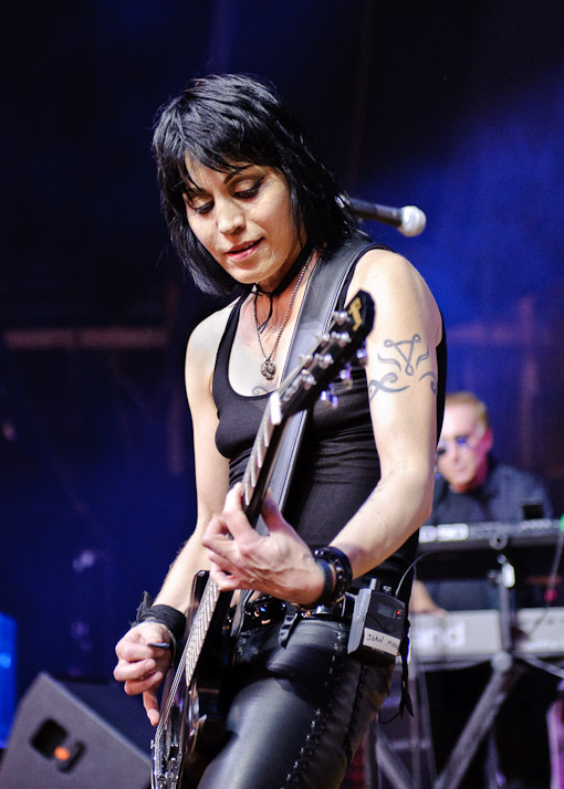 Joan Jett at Virgin Free Fest 2010