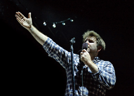 LCD Soundsystem at Virgin Free Fest