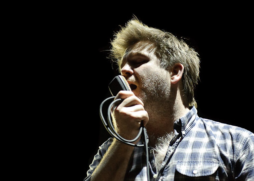LCD Soundsystem at Virgin Mobile Festival