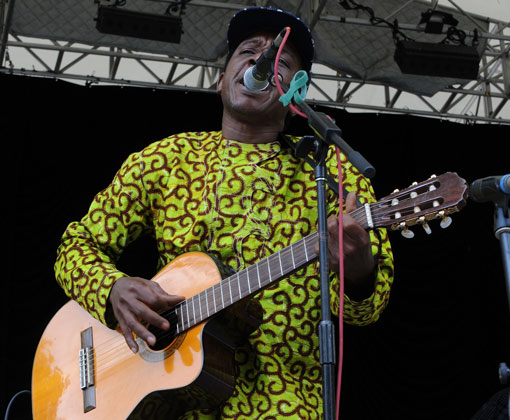 Victor Deme at SummerStage