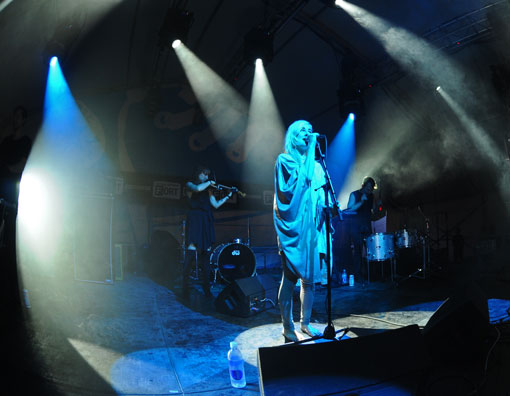 Zola Jesus at The FADER Fort at SXSW