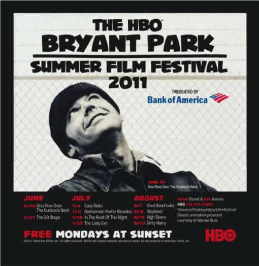 HBO Bryant Park Film Festival