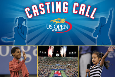 2009 US Open Casting Call