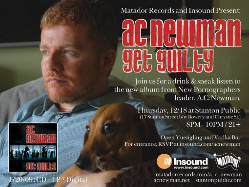 AC Newman Listening Party