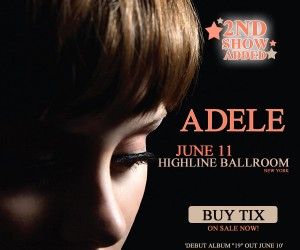 Adele at The Highline