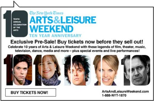 Arts and Leisure Weekend