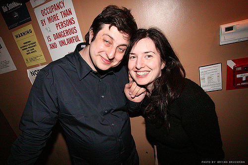 Alina Simone and Eugene Mirman