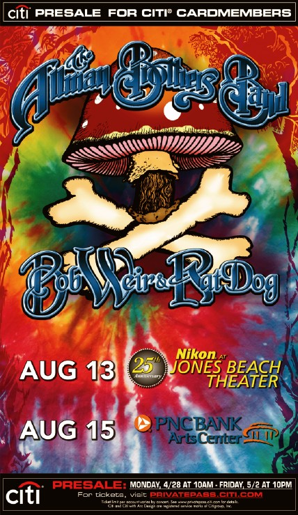 The Allman Brothers with Bob Weir and Ratdog