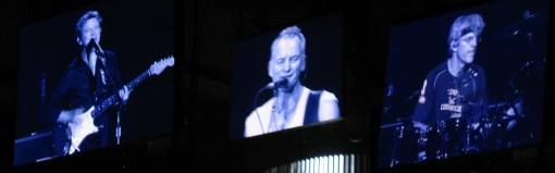 Andy, Sting, and Stewart at MSG