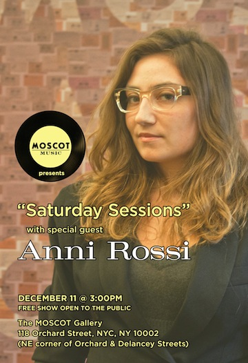 Anni Rossi at MOSCOT