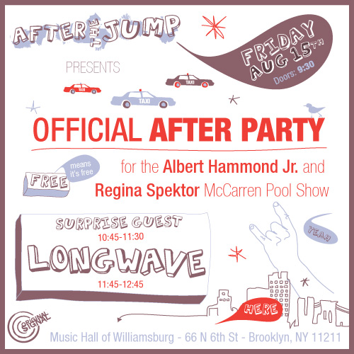 After The Jump Presents Longwave and Alberta Cross at MHOW