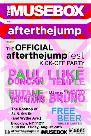 Musebox/After The Jump Pre-Party with Free Beer