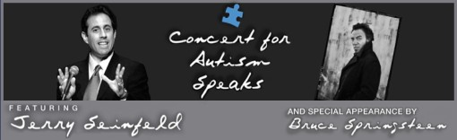 Autism Speaks Benefit w/ Bruce Springsteen and Jerry Seinfeld