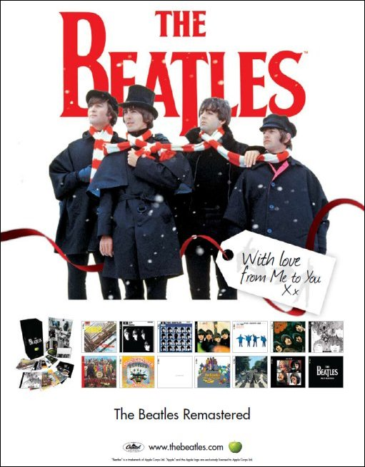 The Beatles Holiday Poster Giveaway