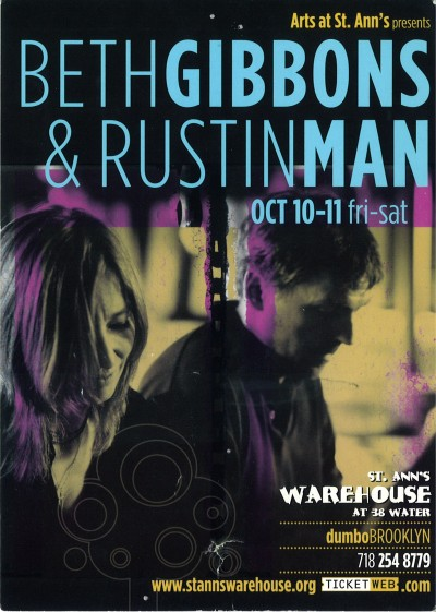 Beth Gibbons and Rustin Man - I was there man!