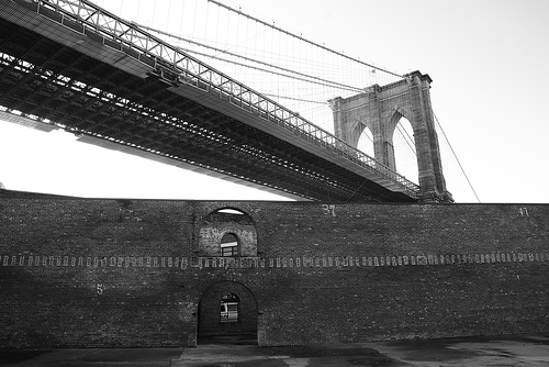 Brooklyn Bridge and Tobacco Warehouse