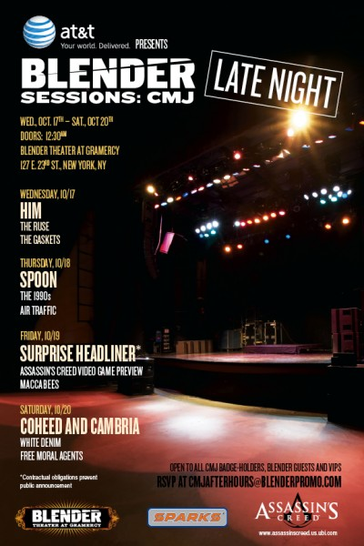 Blender Sessions @ CMJ