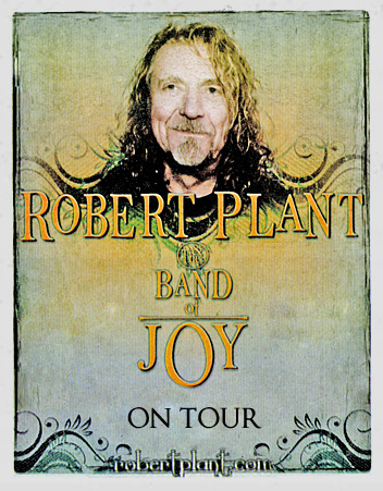Robert Plant on Tour