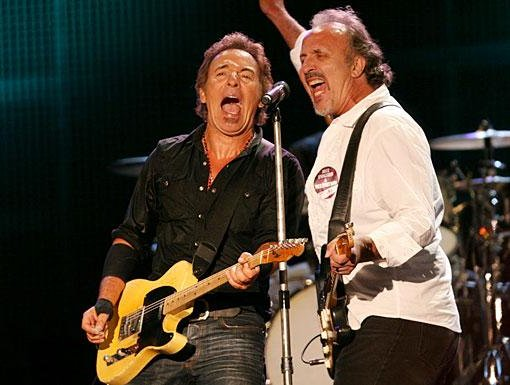 Joe Grushecky and Bruce Springsteen