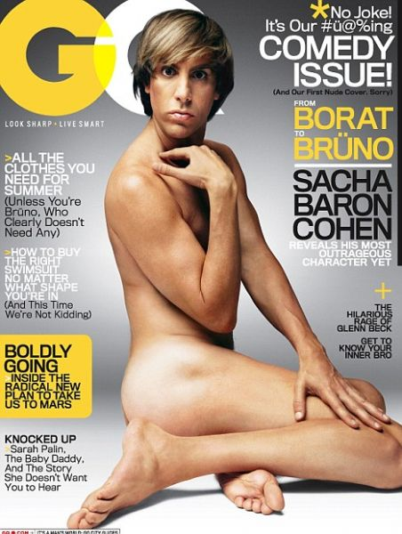 Bruno on GQ