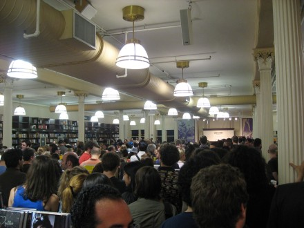 The Crowd at B&N for Stephen Colbert's Reading