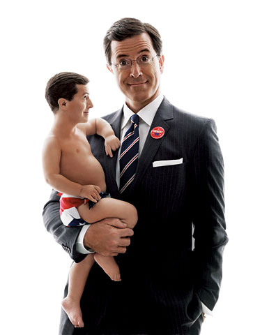 Stephen Colbert in GQ | Click for Slideshow