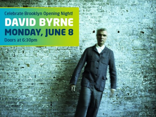 David Byrne at Celebrate Brooklyn!