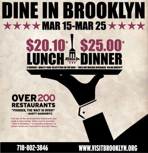Dine In Brooklyn