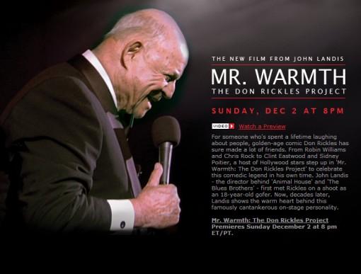 Mr. Warmth