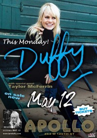 Duffy at The Apollo