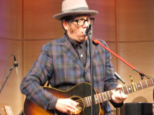 Elvis Costello at The Greene Space
