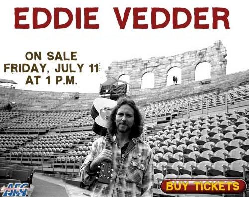 Eddie Vedder Solo Tour