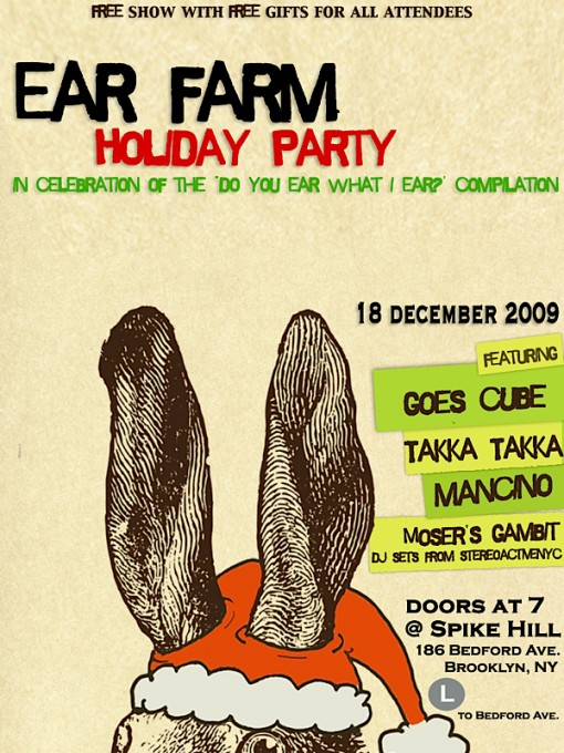 Ear Farm Holiday Party